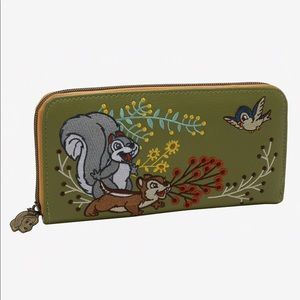NWT Snow White Woodland Animals Loungefly wallet